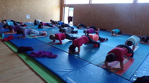 Gymnastique et renforcement musculaire