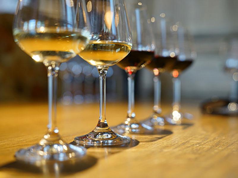 Les vins sont minutieusement choisis